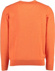 FYNCH HATTON V-Ausschnitt-Pullover orange