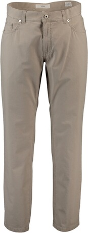Brax Hose Style Cooper Ice Cotton Summer Structure Stretch beige
