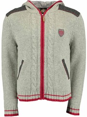 HAMMERSCHMID Strickjacke Elias grau