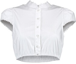 Krüger Collection Dirndlbluse weiss