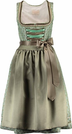 KRÜGER Collection Dirndl Lolette grün