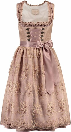 KRÜGER Collection Dirndl Marigold braun