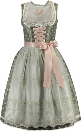 KRÜGER Collection Dirndl Cataleya khaki