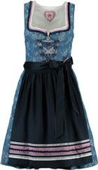 SPIETH & WENSKY Dirndl Hollywood blau