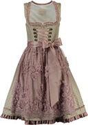 KRÜGER COLLECTION Pure Romance Dirndl rosè