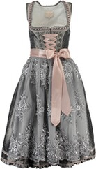 KRÜGER Collection Dirndl Grazia grau