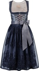 KRÜGER Collection Dirndl Loreley blau
