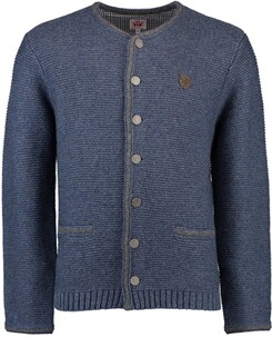 SPIETH & WENSKY Strickjacke Gottfried blau