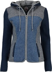 SPIETH & WENSKY Kortney Walkjacke blau/grau