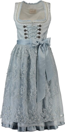 KRÜGER COLLECTION Dirndl Polly blau