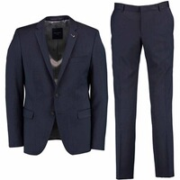 Benvenuto Purple Baukasten-Anzug Super Slim Fit marine