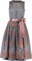 KRÜGER COLLECTION Dirndl Netty grau