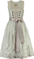 KRÜGER COLLECTION Dirndl Leah ecru
