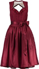 KRÜGER COLLECTION Dirndl Talisa bordeaux