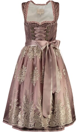 KRÜGER COLLECTION Dirndl Shirin lila