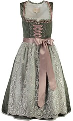 KRÜGER COLLECTION Dirndl Philomena dunkelgrün