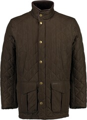 BARBOUR Steppjacke Devon oliv