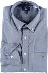GANT Stretch Oxford Hemd marine
