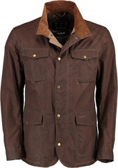 BARBOUR Ogston Lightweight Wachsjacke braun