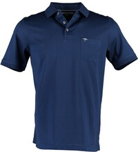 FYNCH HATTON Polo-Shirt midnight blue