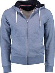 GANT Sweatjacke denim blue melange