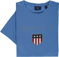 GANT T-Shirt-Rundhals royal blau