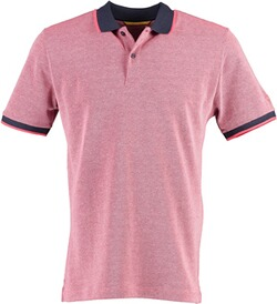 CAMEL ACTIVE Polo-Shirt pink meliert