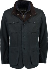 BARBOUR Wachsjacke Ogston navy
