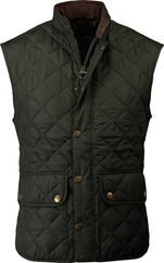 BARBOUR Steppweste Lowerdale oliv