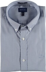 GANT Tech Prep Royal Oxford Langarmhemd blau/weiss strukturiert