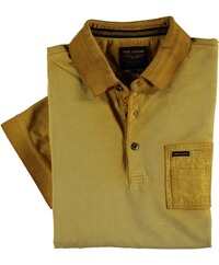 PME LEGEND Poloshirt Used-Look gelb