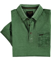 PME LEGEND Poloshirt Used-Look grün
