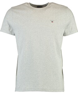 Gant T-Shirt light grey melange