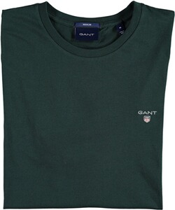 Gant The Original T-Shirt tartan green
