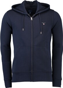 Gant The Original Full Zip Hoodie evening blue