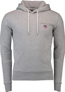 GANT Medium Shield Hoodie Light grey