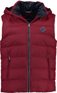 Gant The Active Cloud Vest mahony red