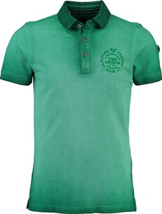 Herren Polo Shirt PME LEGEND Polo-Shirt grün