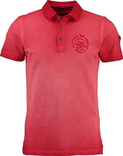 Herren Polo Shirt PME LEGEND Polo-Shirt rot
