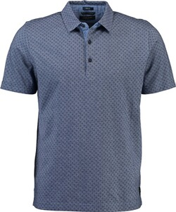 Herren Polo Shirt PIERRE CARDIN Polo-Shirt blau