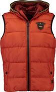 PME LEGEND Bushing Body Warmer Steppweste rost