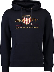GANT Archive Shield Hoodie evening blue