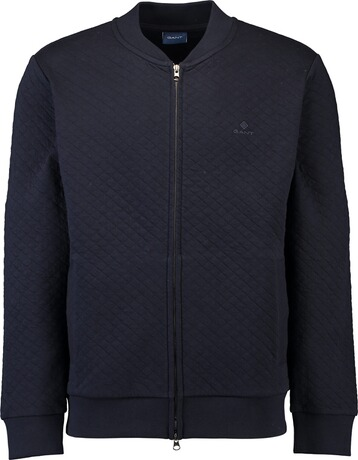 Gant Diamond Bomber Jacket evening blue