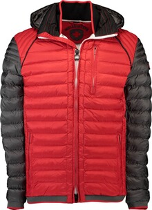 Wellensteyn Jacke Herren: Wellensteyn Molecule Hood Racing redmetal/anthracite