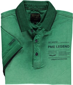 PME LEGEND Polo-Shirt grün