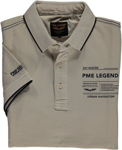 PME LEGEND Polo-Shirt beige