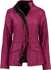 BARBOUR Cavalry Polarquilt Steppjacke pink