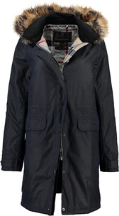 BARBOUR Galloway Wachs-Jacke navy