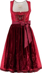 KRÜGER Collection Dirndl rot