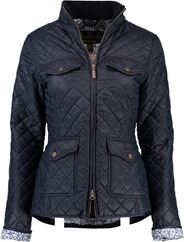 BARBOUR Ashlynn Quilt Steppjacke navy